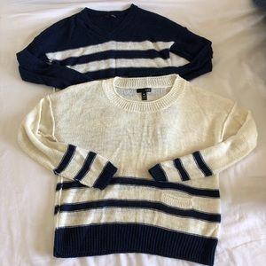 2 Aqua sweater